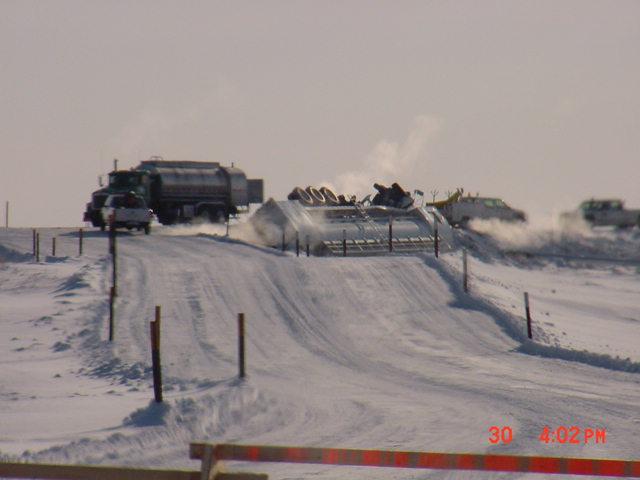 Tank Truck Rollover at Alpine